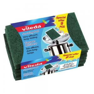 Vileda Hand Pad 9 Piece Set