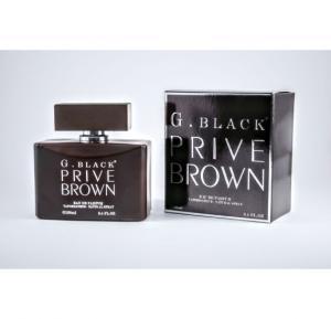 PCP G Black Prive Brown Perfume 100 Ml