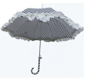Hello Black spoted Umbrella For Women