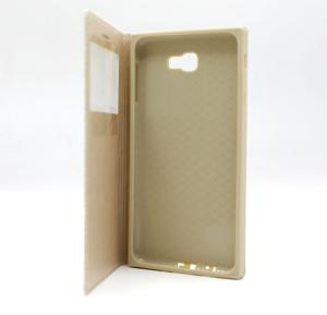 Ambulatory Gold Samsung Compatible Flip case for Samsung  J7 Prime (G610) Gold