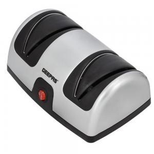 Geepas GKS63044 Electric Knife Sharpener Grey with Black