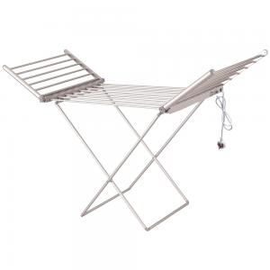Eunike ECD-220 Electric Aluminum Cloth Dryer Stand, Grey