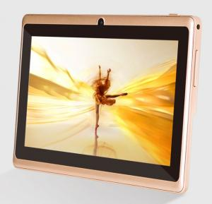 I-Touch C703 Tablet, WiFi,Android OS, 7.0 Inch Display, 512 MB RAM, 4GB Storage, Dual Camera,BT,FM Radio- Gold