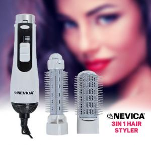Nevica Hair Styler 3-1, NV-2003HS Supplied with 2 attachments