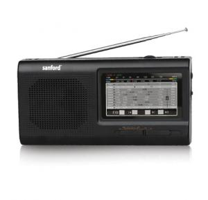 Sanford Portable Radio / 9 Band High Sensitivity Receiver SF1025PR