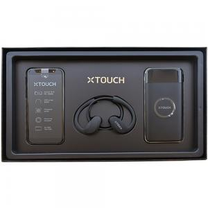 XTouch X Dual SIM Black 2GB RAM 16GB Storage 4G LTE and XTouch Power Bank WP01 with XTouch Wireless Headset SH01 Bundle