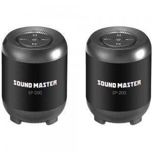 Xcell sound master portable wireless speakers 2pcs pairs together, SP-200