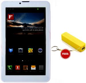 BSNL A19, Tablet 7 inch, Android 4.4, 8GB, Dual Core, 4G LTE, Dual Camera, white, And Get free power bank