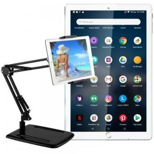 2 in 1 Combo Offer G-Touch G380 10.1 Inch 4G Dual Sim 4GB RAM 32GB Storage Tablet Pc Assorted And Multifunctional Bracket of Desktop Video Frame Full Metal Flexible Stand