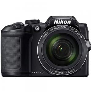Nikon Coolpix B500 Compact Point & Shoot Camera, 16 MP, Black