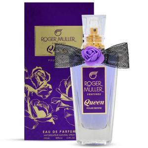 Roger Muller Perfumes Queen For Women Eau De Toilette, 100ML