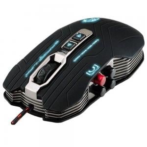Dragon War Gaia Professional Mouse Gamer with Vibration 4000 DPI with Mouse Pad Gamer, G15