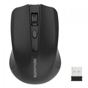 Promate 2.4g Wireless Mouse, Clix-8 Black