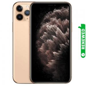 Apple iPhone 11 Pro Max With FaceTime Gold 64GB 4G LTE Renewed- S