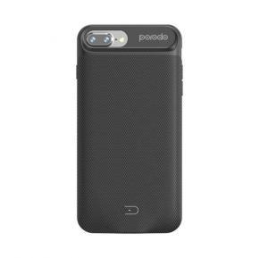 Porodo Power Case 3650Mah for iPhone 8/7 Plus-Black