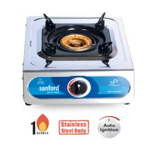 Sanford SF5112GC 1 Burner Gas Stove Steel