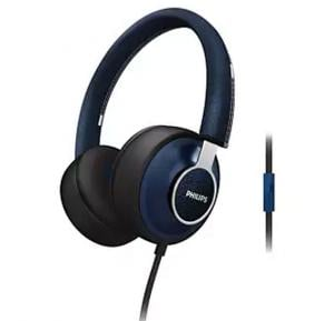 Philips Citi Scape Downtown Headphones with Mic Blue, SHL5605BL/10