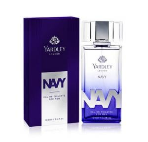 Yardley Navy Eau De Toilette for Men, 100ml