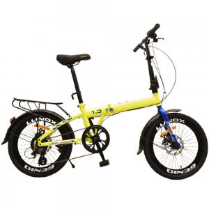 Genio 2.0 Folding Bicycle, Yellow