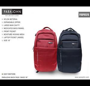 Parajohn Back PackBags -18 inch, Black