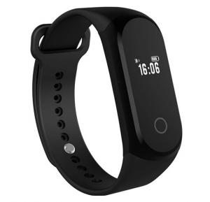 Zooni Rock Band Bluetooth Smart Health Wrist Bracelet, Heart Rate Monitor OLED Touch Screen Sports Watch