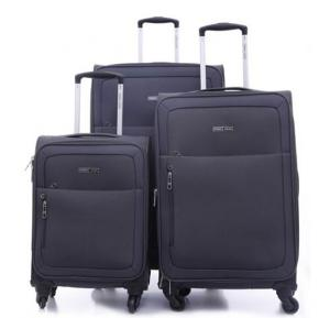 Parajohn Polyester Soft Trolley Luggage Set Gray, PJTR3109C