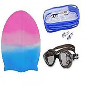 Swimming Cap W/Goggles FT 237