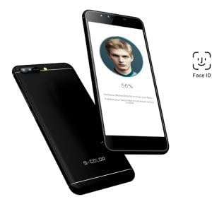 S-Color X2 4G Smartphone, Android 7, 5.5 Inch HD Display, 3GB RAM, 32GB Storage,Dual Sim, Wifi- Black