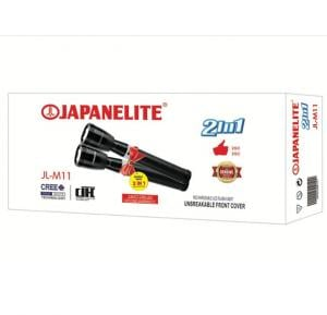 Japanelite 2 in 1 Rechargeable LED Flashlight JL-M11