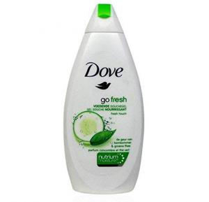 Dove Shower Gel Go Fresh Touch Body Wash, 500ml