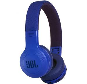 JBL Over-Ear Bluetooth Stereo Wireless Headphone - E45BT Blue