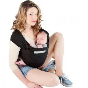 Love Radius Basic Baby Wrap Black