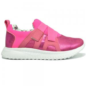 Verde  Low Top Girls Sneakers, Pink