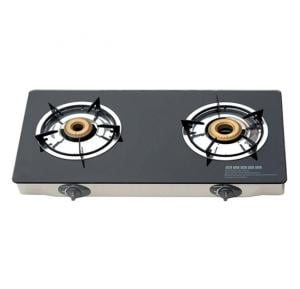 Akai Double Burner Table Top Cooker TTMA-200GL - Black