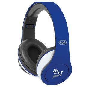 Trevi DJ 677 M Headphones with Microphone, Blue