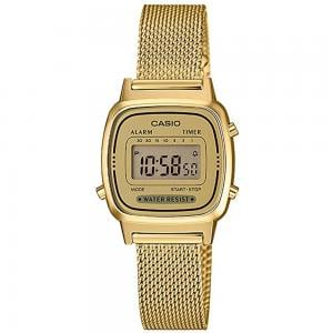 Casio Digital Watch For Unisex, LA670WEMY-9DF