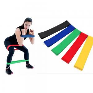 Five Piece Fitness Resistance Band Set