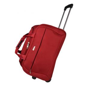 Ambest hybrid duffle with wheels - 20 inch red, 6022 red