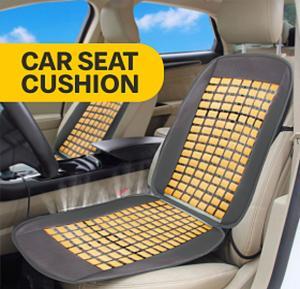 Car Seat Cushion, Gray Cream
