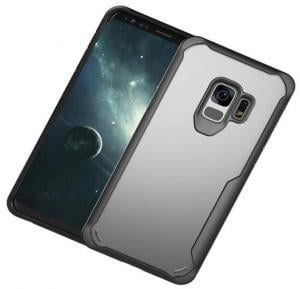 Samsung Galaxy S9 Acralic Rubber Grip Grey