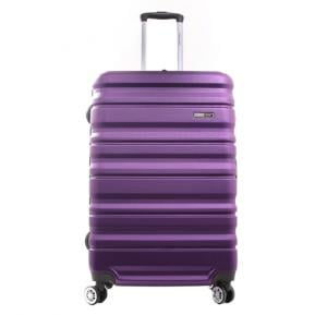 Para John 24 Inch Trolley Luggage, Purple- PJTR3079