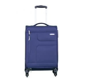 Para John PJTR1025 4 Wheel Soft Trolley Bag - Navy Blue