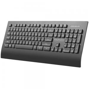 Promate ProCombo-7 Wireless Eng and Arabic Keyboard and Mouse 2.4Ghz Black