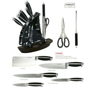 Flamingo Kitchen Knife Set - FL2000KNST