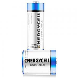 Energycell D Size 3.6V Lithium Battery, ER34615