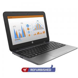 HP Stream Pro 11 Notebook, Intel Celeron N2840 Processor, 2GB RAM, 32GB SSD, 12 Inch HD LED Screen, Windows 10- Refurbished