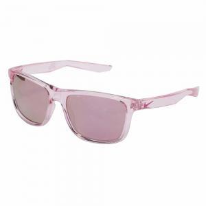 Nike EV0989 Rectangle Crystal Rose Sunglasses For Men Rose Lens, Size 53