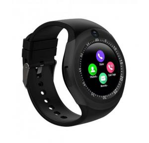 Grasp Young Rich Visual Bluetooth Smart Watch With Sim And SD Card Support, Black