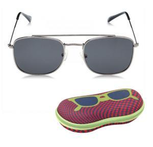 TFL Sunglasses Polarized Mens Black Square Shaped , 201321-C2
