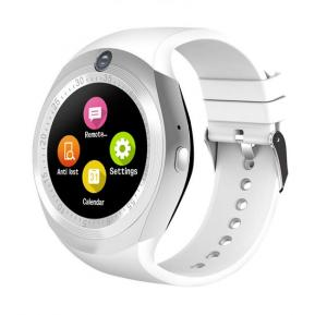 Grasp Young Rich Visual Bluetooth Smart Watch With Sim And SD Card Support, White